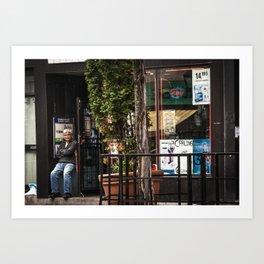 Shopkeeper Art Print