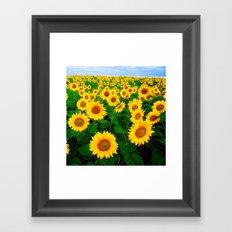 Sunflower art decoration ideas best design Framed Art Print