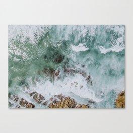 waves xiv / australia Canvas Print