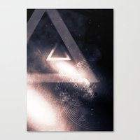 outer space Canvas Prints featuring Outer space by MichelxEdge