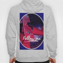 Follow me, Sigueme, suis moi, Volg Mij, Forge Mir Hoody