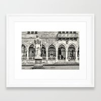 hercules Framed Art Prints featuring Hercules' back by Roberto Pagani