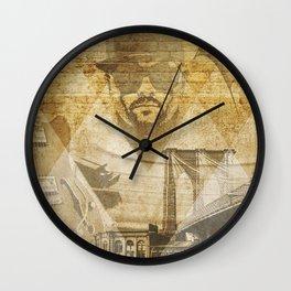 Just Jammin' Wall Clock