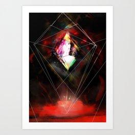 Shining Trapezohedron Art Print
