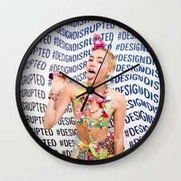 #DESIGNDISRUPTED Wall Clock