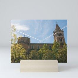 Criss-Cross Mini Art Print