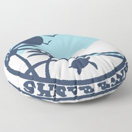 Surf City - North Carolina. Floor Pillow