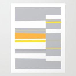 Mosaic Single 4 #minimalism #abstract #sabidussi #society6 Art Print