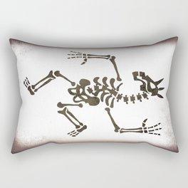 Skeleton Unicorn Dance 2 Rectangular Pillow