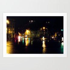 Cool Parisian Evening Art Print