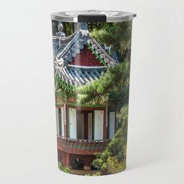Buyongi Pond, Secret Garden, Changdeokgung Palace, Seoul Travel Mug