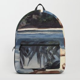 Winslow Homer1 - West India Divers - Digital Remastered Edition Backpack