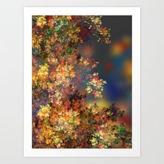 A Beautiful Summer Afternoon Art Print