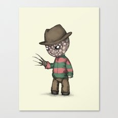 Plushie On Elm Street Canvas Print