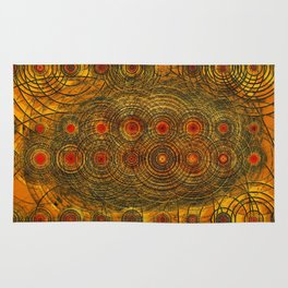 Waves of Gravity- The Pulse of the Universe Rug