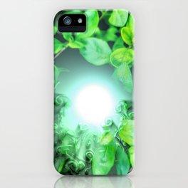 Dissolving nature iPhone Case
