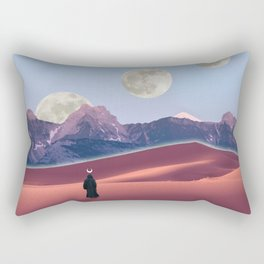 The cosmic nomad Rectangular Pillow