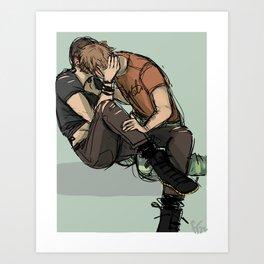 Ronan and Adam Art Print