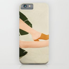 Between the Leaves iPhone Case