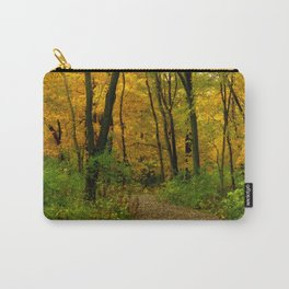 Golden Maple Forest Carry-All Pouch