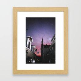 Higher Dutch Perspective Framed Art Print