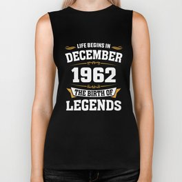 December 1962 56 the birth of Legends Biker Tank