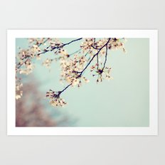 under the blue skies ...  Art Print