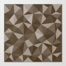 Geometric pyramids V6 Canvas Print