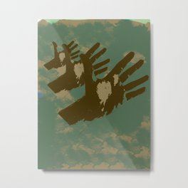 High fives Metal Print