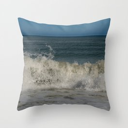 Cape Canaveral 0737, Florida Seascape Throw Pillow