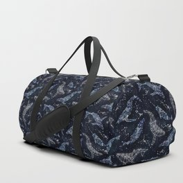 Whale constellations Duffle Bag
