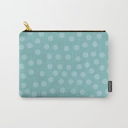 Self-love dots - Turquoise Carry-All Pouch
