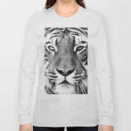 Tiger, Animal, Scandinavian, Minimal, Trendy decor, Interior, Wall art Art Long Sleeve T-shirt