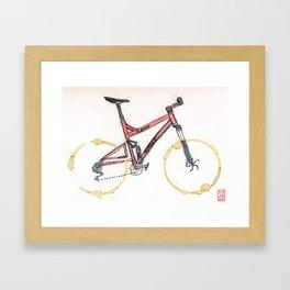 Coffee Wheels #12 Framed Art Print