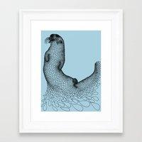 otter Framed Art Prints featuring Otter by Julia Kisselmann
