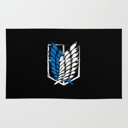 Attack on Titan Survey Corps Rug