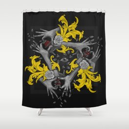 Hands and Hearts Shower Curtain