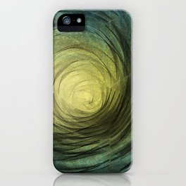Ethereal Spiral iPhone Case