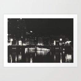 Milwaukee Noir Art Print