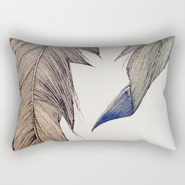 """""""Your wings already exist. All you have to do is fly."""" Rectangular Pillow"""
