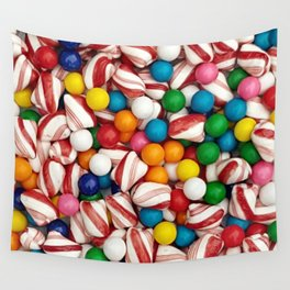 Peppermints and Gumballs Wall Tapestry