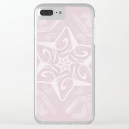 Shalom Star of David - 3 Clear iPhone Case