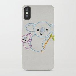 K Koala iPhone Case