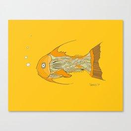 Francis the Fish Canvas Print