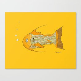 Francis the Fish Canvas Print