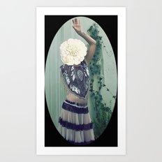 Inflorescencias 3 Art Print