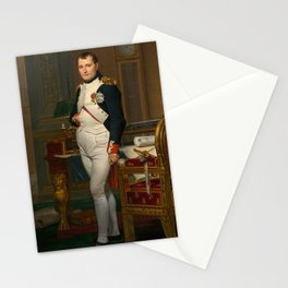 Emperor Napoleon in His Study at the Tuileries Stationery Cards
