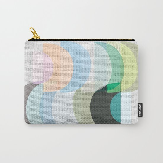 Pastel Geometry 3 Carry-All Pouch