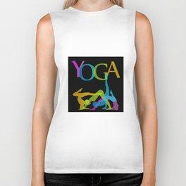 Yoga addicts Biker Tank