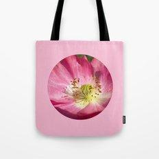 pink bloom focus IX Tote Bag